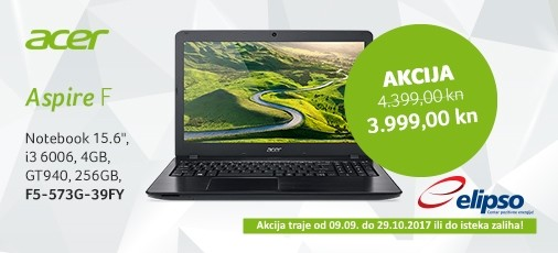 Acer Akcija F5-573G 006 Jesen 2017