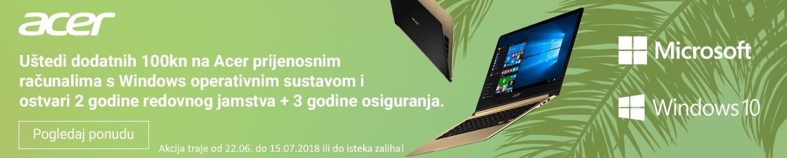 acer akcija laptopi windows 10 srpanj 18