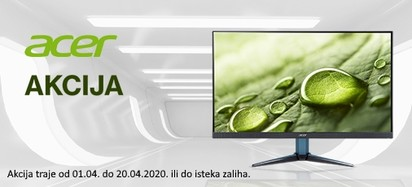 Acer Akcija Monitori Travanj 2020