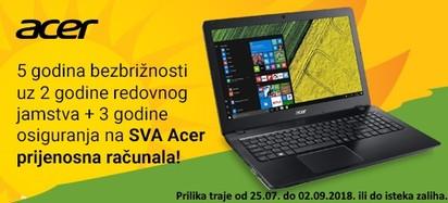 Acer Prilika Svi Jamstvo Kolovoz 2018