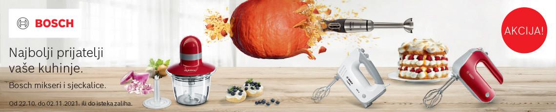 Akcija Bosch prijatelji kuhinje listopad
