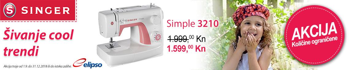 akcija singer simple 3210