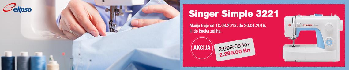 akcija singer simple 3221
