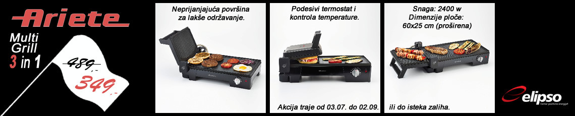 akcija - multi grill
