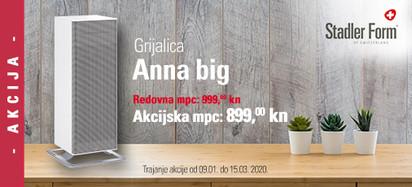 Anna big grijalice za vaš dom