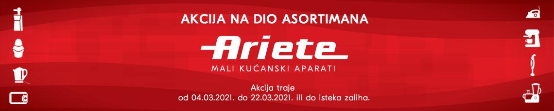 Ariete akcija ožujak 2021