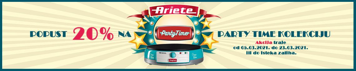 Ariete party time akcija ožujak