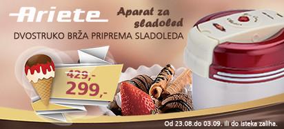 Ariete - Akcija ice-cream maker