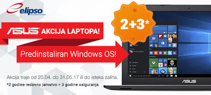 Asus Akcija Windows10 Proljece S 2017
