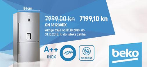 beko nofrost hladnjak cn161230dx
