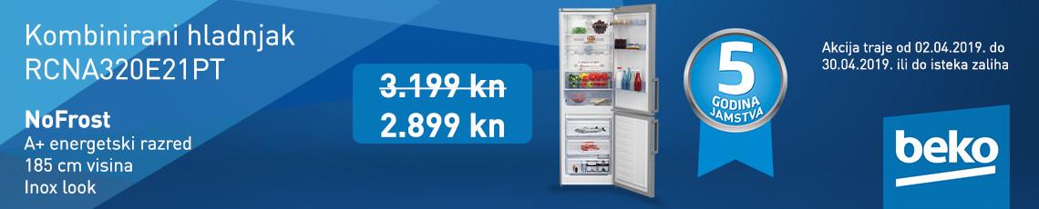 beko nofrost hladnjak rcna320e21pt