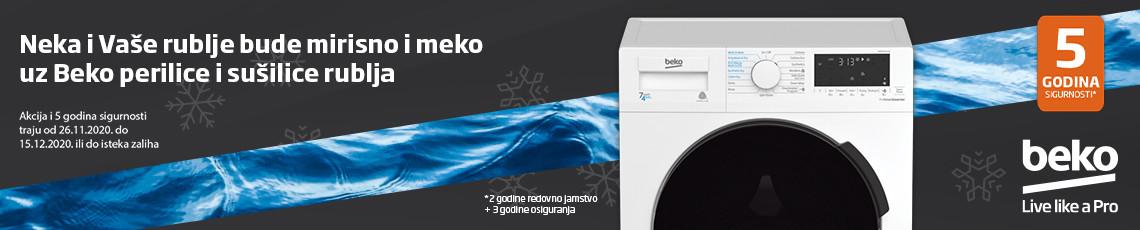 beko perilice i sušilice rublja studeni