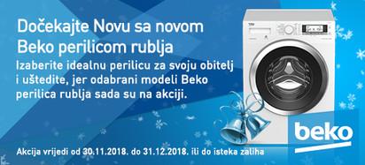 beko perilice rublja - akcija zima 2018