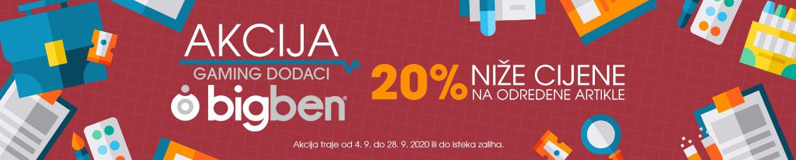 Bigben Akcija 20posto B2S 2020