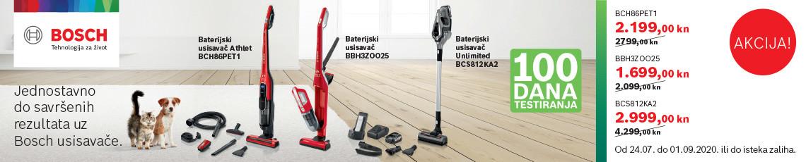 bosch baterijski usisavači ljeto 2020
