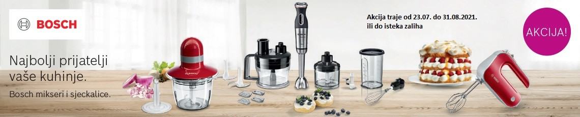 Bosch ljetna akcija prijatelji kuhinje