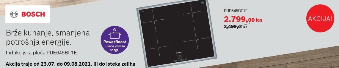 Bosch ugradbena indukcijska ploča