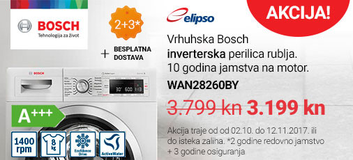 bosch wan28260by perilica rublja