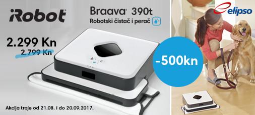 Braava 390T čistač podova