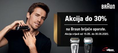 Braun brijači aparati 15.05.2020
