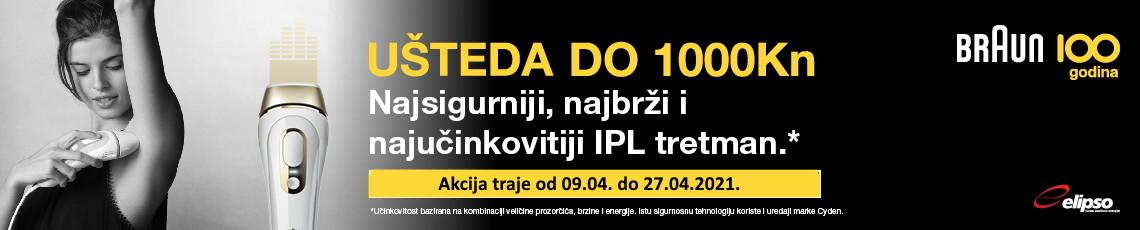 Braun IPL travanj