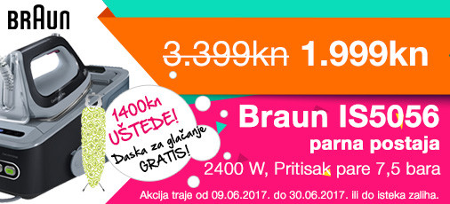 braun is5056 akcija lipanj