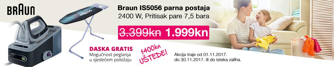 braun is5056 parna postaja