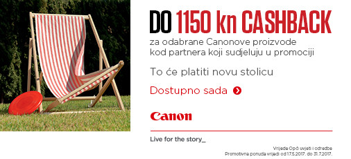 Canon Cashback ljeto 2017