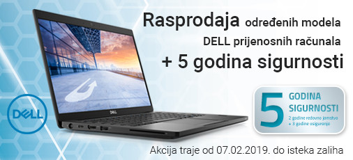 dell notebook rasprodaja veljaca 2019
