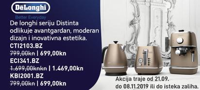 delonghi distinta broncana akcija 2019
