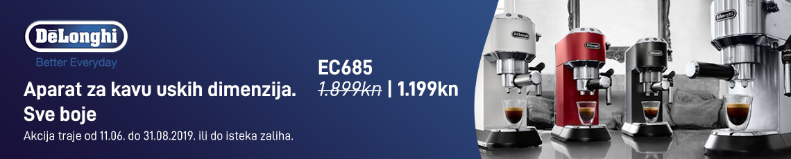 delonghi ec685 akcija