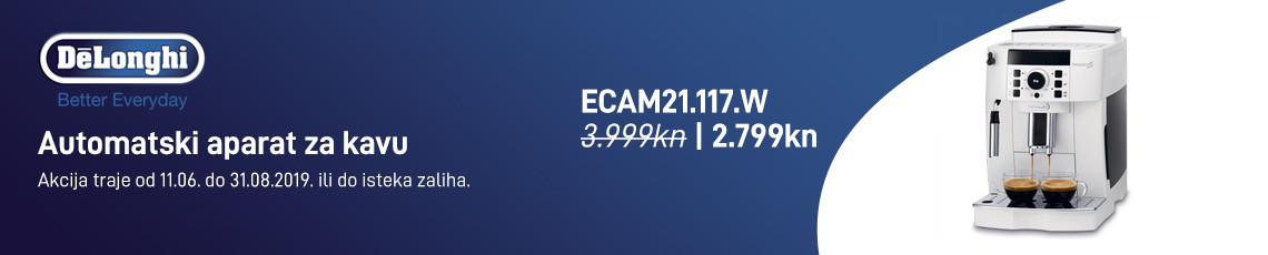 delonghi ecam21.117w akcija 2019