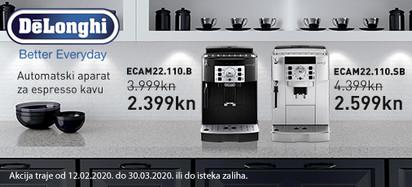 delonghi ecam22.110 akcija 2020