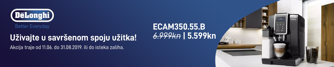 delonghi ecam350.55b akcija