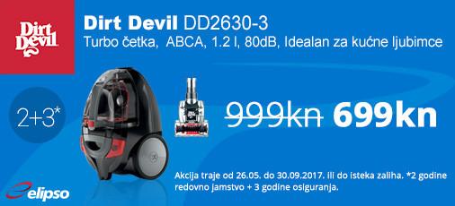 dirt devil dd2630-3 akcija