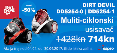 dirt devil dd5254 akcija