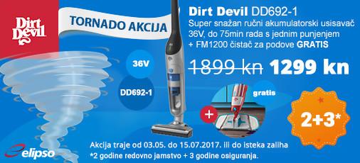 Dirt Devil DD692-1 akcija