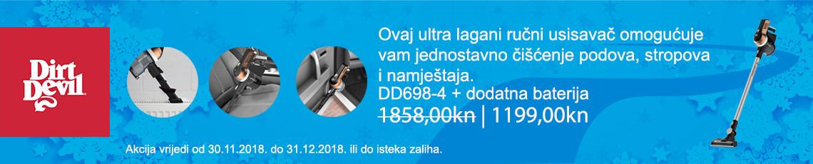dirt devil dd6984 + baterija