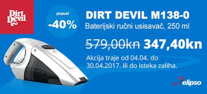 dirt devil m138 akcija
