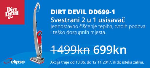 dirt devil samurai dd699 akcija