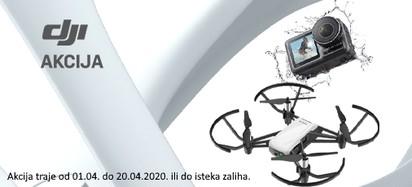 DJI Akcija Travanj 2020