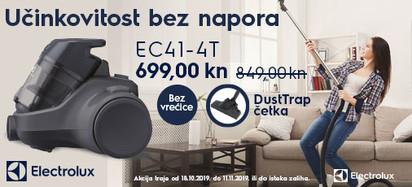 electrolux ec41-4t jesenska akcija