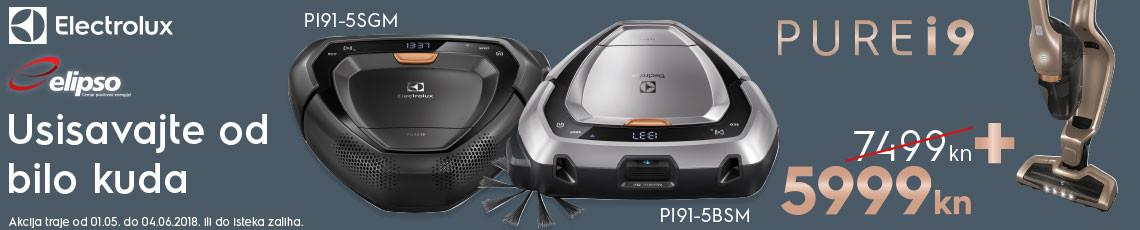 Electrolux robotski usisavači akcija