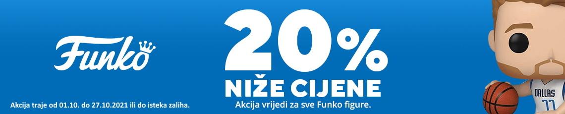 funko - akcija listopad 2021