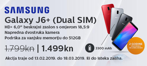 galaxy j6 plus akcija veljača