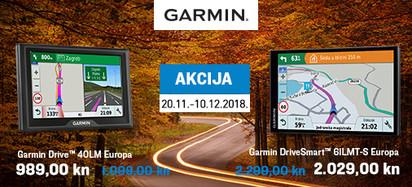 Garmin - akcija cesta Europe