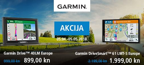 Garmin - Akcija cesta proljeće 2018.