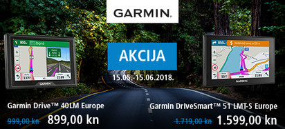 garmin - akcija cesta svibanj 2018
