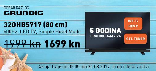 Grundig 32GHHB5717 akcija svibanj