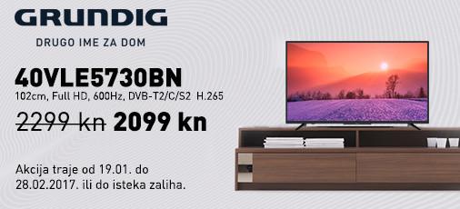 Grundig 40VLE5730BN akcija 2018